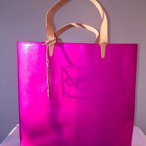 Victoria's Secret Hot Pink Large Bag Tote